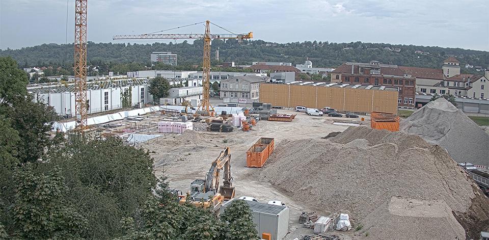 Neue Webcam: Verfolgen Sie live den Baufortschritt des Henriettengartens!